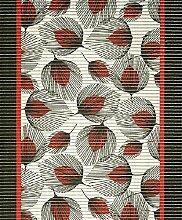 Badvorleger, Aquamat Antirutsch Matte, Bodenbelag, Bad Garten Küche, 140x65 cm, Länge wählbar, Läufer Strichblatt Ro