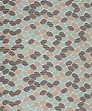 Badvorleger Aquamat Antirutsch Matte Bodenbelag, Bad Garten Küche, Glas Mosaik, Größe wählbar (320x65 cm)