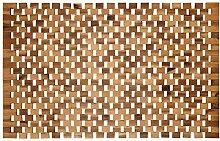 Badvorleger Holz | rutschfeste Badematte | Robuste
