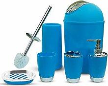 Badzubehör Set 6 Stück Plastikgeschenk