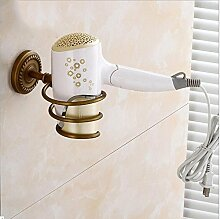 Bäder Gebläse Hardware Elektrische Gebläse Kleiderbügel Alle Europäischen Kupfer Antik Stapel Wand Halterungen