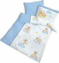 BÄRCHEN Fein Biber Baby Kinder Jungen Bettwäsche