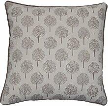 Bäume 45,7cm, quadratisch, Grau
