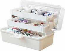 Baffect Medikamentenbox 3 Etage Medizinkasten aus