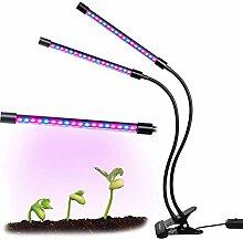 BAFULAN Pflanzenlampe 18W Wachstumslampe mit