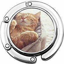 Bag Hanger Hook Cute Rest Sleep Hauskatze