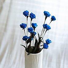 BAGEHUA einen Strauß Blumen Heimtextilien Simulation Software installiert Auf dem Wohnzimmer Tisch Dekoration Zubehör Blumenschmuck. Blau (nur Blumen)
