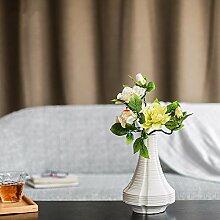 BAGEHUA einen Strauß Blumen Heimtextilien Simulation Software das installierte Zubehör Wohnzimmer Tisch Blumenschmuck Gardenia Blumen Grün