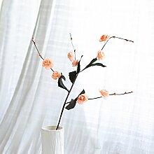 BAGEHUA einen Strauß Blumen Heimtextilien Simulation Software das installierte Zubehör Wohnzimmer Tisch Blumenschmuck der Winter Jasmin Blume Orange