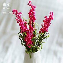 BAGEHUA einen Strauß Blumen Künstliche Blumen Heimtextilien Simulation Schmuck Tischdekoration florales Dekor Lavendel 4 Beam Lila Farbe