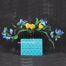 BAGEHUA Gou Lan Blume Blume Simulation Blumen Blumen Dekoration Design Wohnzimmer Eingang Zimmer Blumen C
