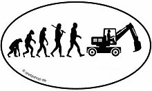 Bagger Baggerfahrer Bauarbeiter Baustelle