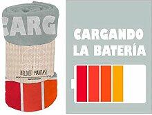 BAGGY Decke aus Coralin, 120 x 160 cm, Batterie,