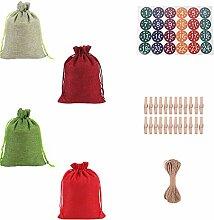 Bags-Weihnachts-Adventskalendertüten 2021, 24