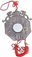 Bagua Spiegel Feng Shui Pakua/12.45 cm, Mit Zwei