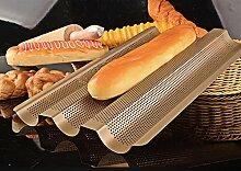 Baguette-Backblech / Baguetteform / Baguetteblech