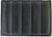 Baguette-Backform mit 5 Rillen, flexible