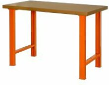 Bahco 1495wb15td–BCO Arbeit mit MDF Arbeitsplatte orange