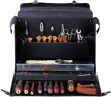 Bahco Elektriker-Werkzeuge in der Ledertasche,