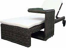 Baidani 10a00017 Rattan Garten Lounge Liege Riviera