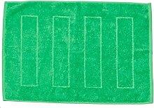 Baidani Badvorleger Uni 50x70cm-Grün Badematte,