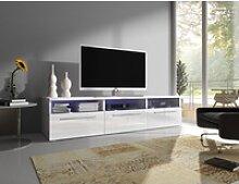 Baidani Lowboard Designer TV-Board Depose, mit LED