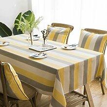 BAIF Baumwolle Leinen Tischdecke Wasserdichte