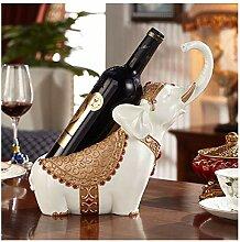 BAIF Elefant Weinregal Weinschrank Ornament