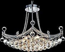 BAIF Kristallleuchter Mit 4 Leuchten Chrom Modern,