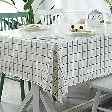 BAIF Rechteckige Tischdecken, Einfache Nordic