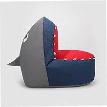 BAIF Sitzsack Kinder Shark Lazy Sofa Stuhl Stabil