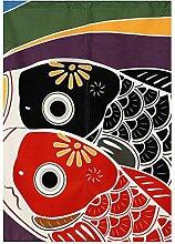 BAIHT HOME Japan Noren Türvorhang Koinobori