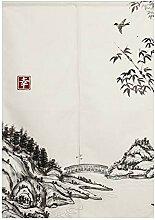 BAIHT HOME Japanischer Noren Türvorhang