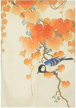 BAIHT HOME Japanischer Noren Türvorhang Tinte