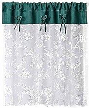 BAIHT HOME Vorhang mit Schlaufen, durchsichtig,