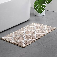 baihua Badezimmerteppich Mit Geometrischem Muster,