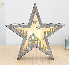 Baijospoy Holz Christbaumschmuck Weihnachten