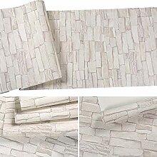 Baikoushuo Vintage Stein Ziegel Tapete Für Wände