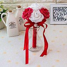 Baipin Blumenstrauß Romantische Hochzeit Bunte