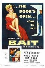 Bait 1954 Poster 01 Metal Sign A4 12x8 Aluminium