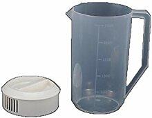 BAIYIQ Glas Krug Wasserkrug Heißes