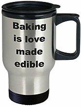 Baking is Love Made Essbare Geschenkidee für