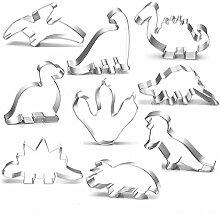 BakingWorld Ausstechformen-Set Dinosaurier,