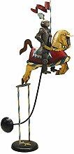 Balancefigur 'Ritter auf Pferd',