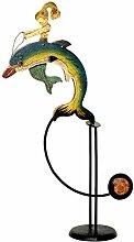 Balancefigur `Meerjungfrau`, Pendelfigur aus Metall