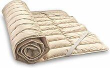 Bale-Unterbett aus Bio-Baumwolle und Bio-Leinen 100x220 cm, Baumberger. Matratzenauflage, Matratzenschoner
