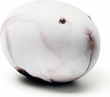Baleri Italia - Sitzei Tattoo, weißes Kaninchen