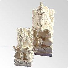 Bali Ganesha Figur 20cmx10x10 1kg aus Sandstein