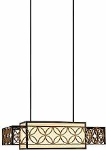 Balken-Pendelleuchte 4-flammig Remy