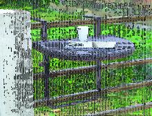 Balkon-Hängetisch Klapptisch AGRA Aluminium